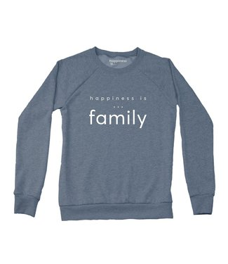 Happiness Is... Happiness is Family Crewneck