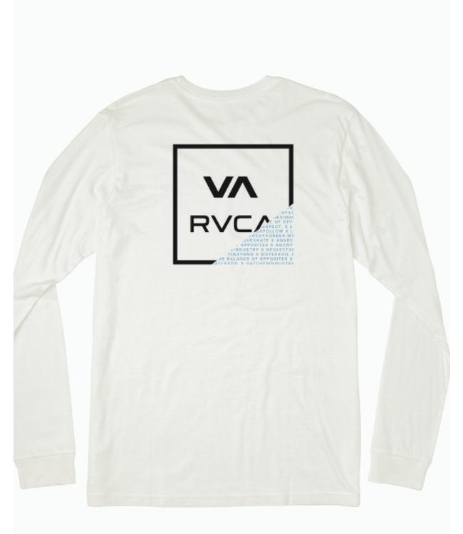 RVCA Youth Fraction LS Shirt