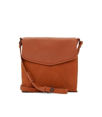 Co-Lab CO-LAB Suede Crossbody with Flap