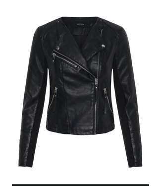 Vero Moda Vero Moda Short Faux Leather Jacket
