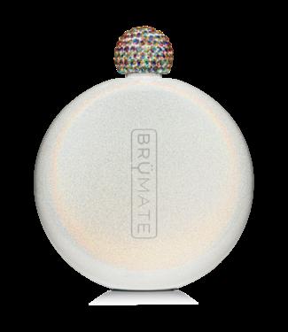 BruMate BruMate Glitter Flask Ice White