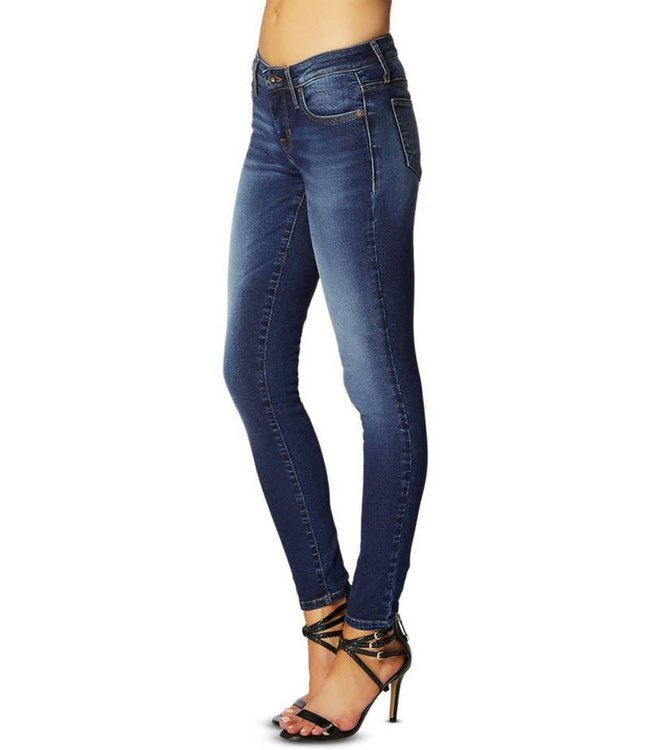 Guess Womens Power Curvy Mid