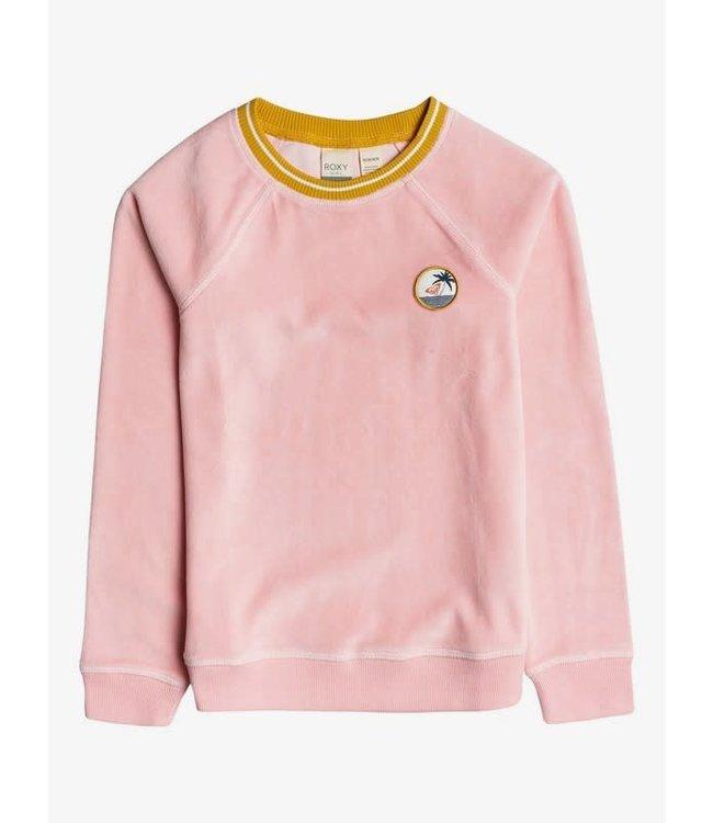 Roxy Girls Final Song Velvet Sweater