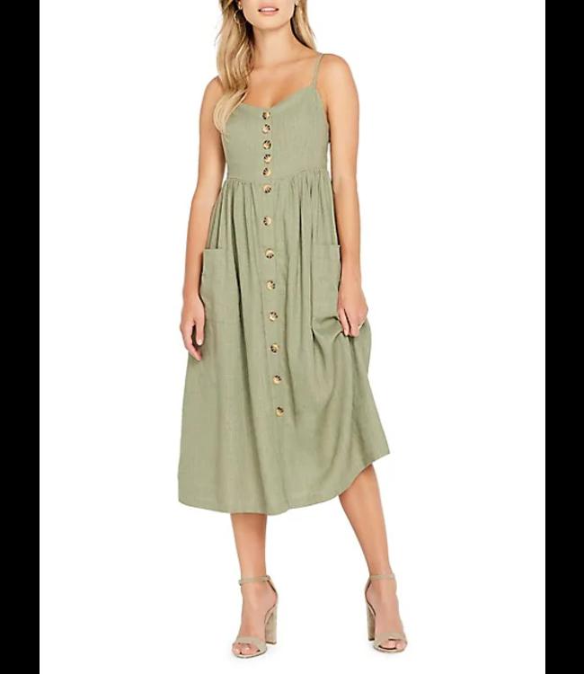 Buffalo Womens Catina Midi Dress