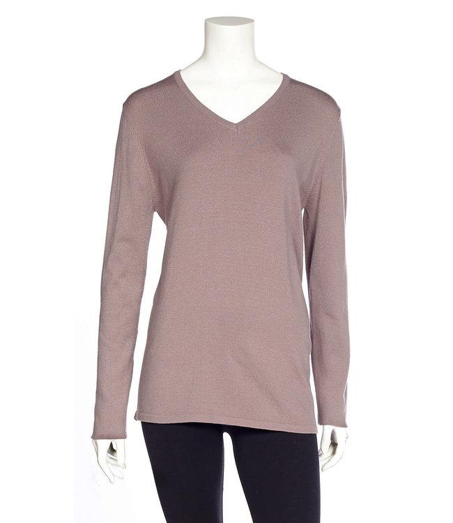 DKR Long Sleeved V-Neck Sweater