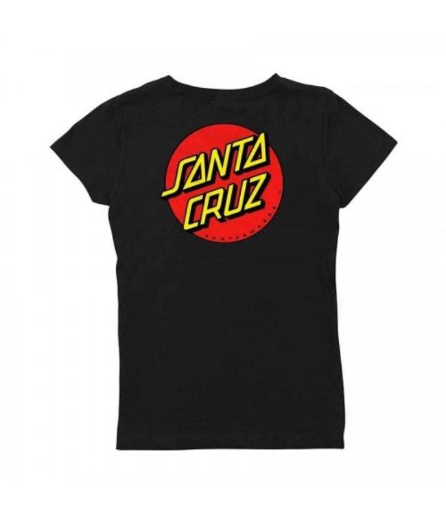 Santa Cruz Classic Dot Girls T-Shirt