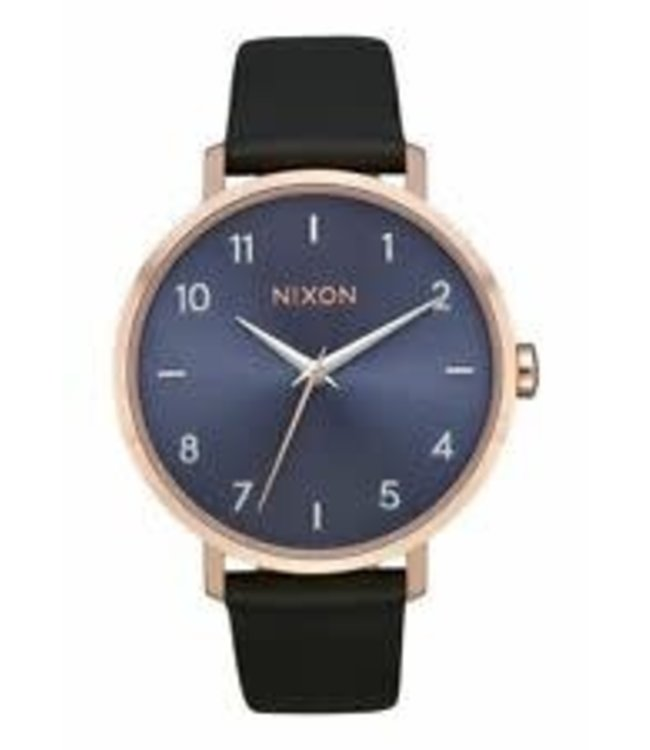 Nixon Arrow Leather Rose Gold/Storm