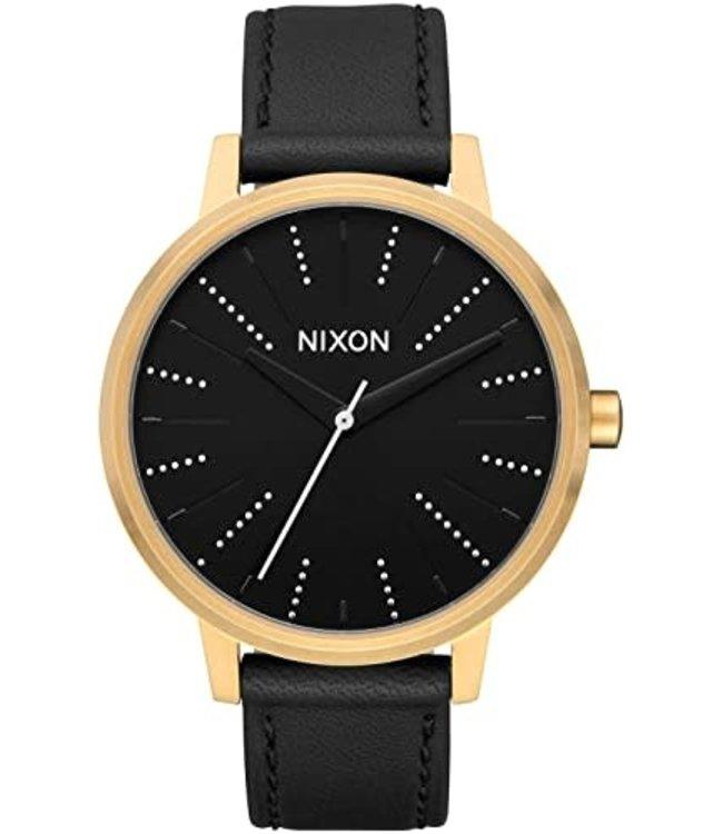 Nixon Kensington Leather Gold/Black/Silver