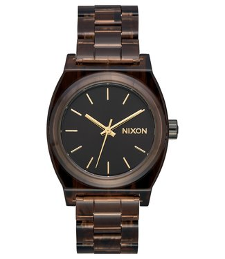 Nixon Nixon Medium Time Teller Acetate Brown