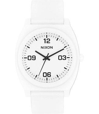 Nixon Nixon Time Teller P Corp Matte White/Black
