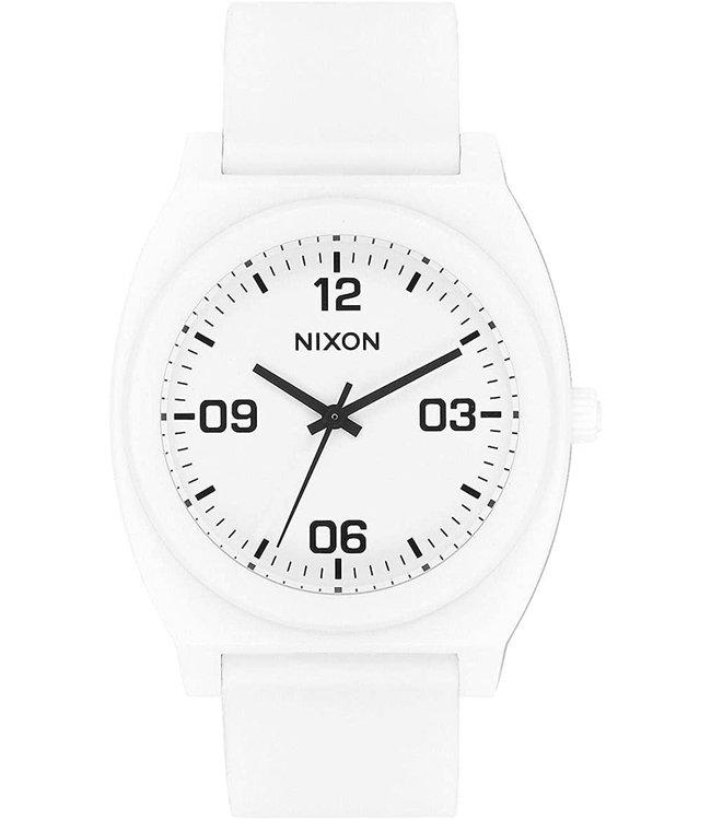 Nixon Time Teller P Corp Matte White/Black
