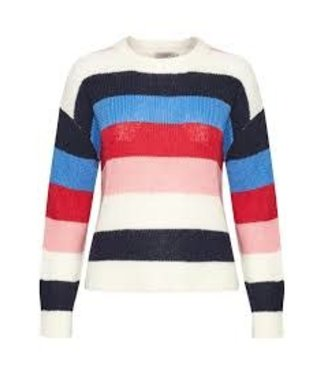 Soaked In Luxury Soaked In Luxury Frida Striped Pullover