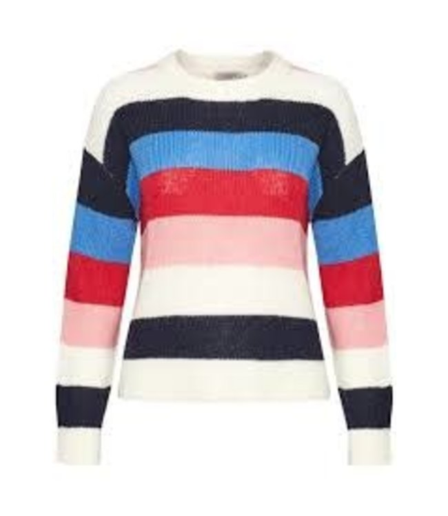 Soaked In Luxury Frida Striped Pullover