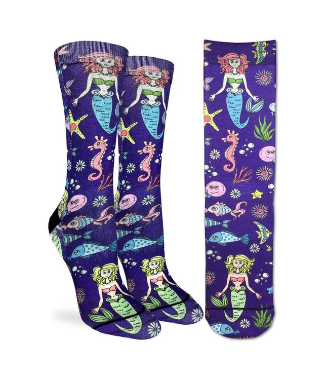 Good Luck Socks Womens Mermaid