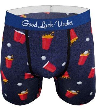 Good Luck Undies Mens Beer Pong