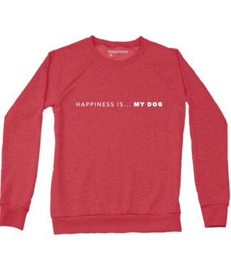 Happiness Is... Happiness is My Dog Crewneck