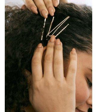 Lover's Tempo Lovers Tempo Priya Hair Bobby 4 Pack - Gold