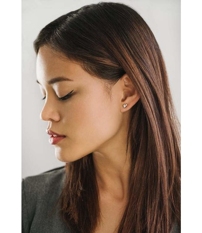 Lovers Tempo Dolce Studs - Clear