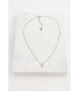 Lover's Tempo Lovers Tempo Everly Circle Necklace - Silver