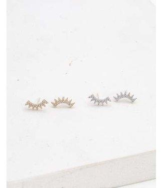 Lover's Tempo Lovers Tempo Nova Climber Earrings - Gold
