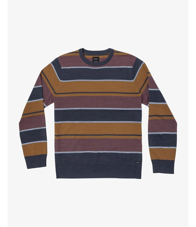 RVCA Youth Alex Stripe Crew Sweater