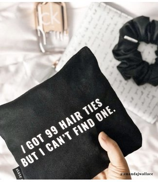 State of Grace 99 Hair Ties Zip Bag