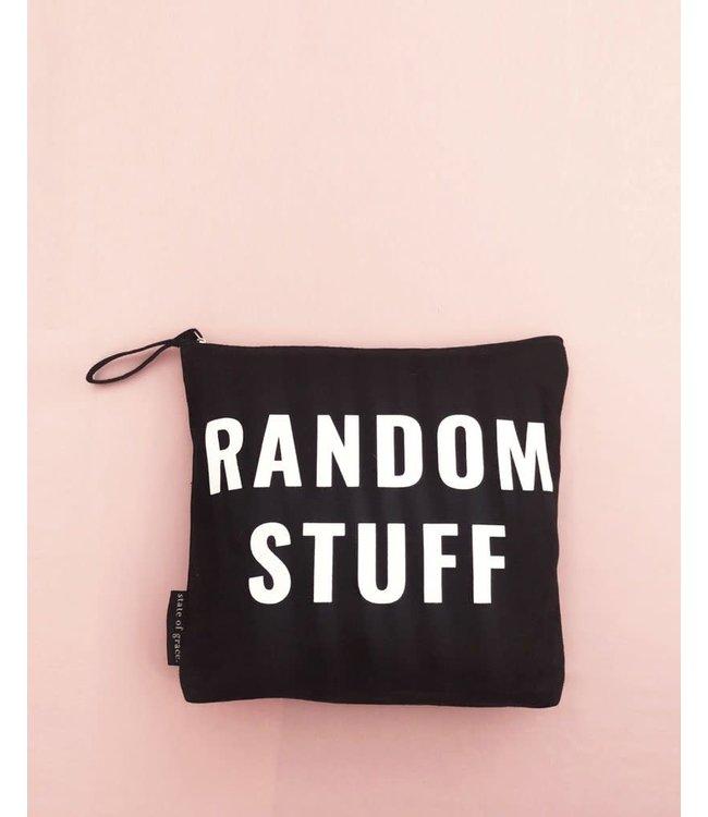 State of Grace Random Stuff Zip Bag