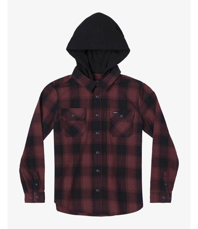 RVCA Youth Replacement Flannel Jacket