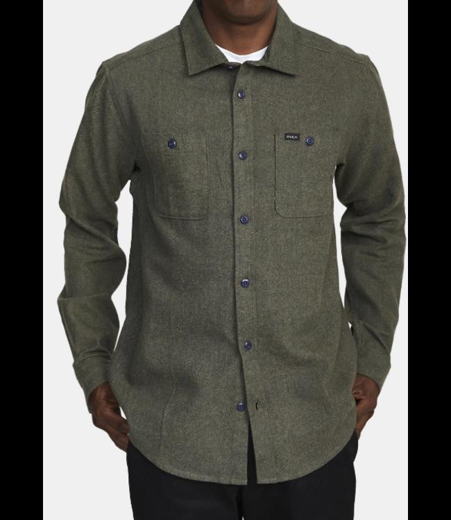 RVCA Mens Harvest Flannel Shirt