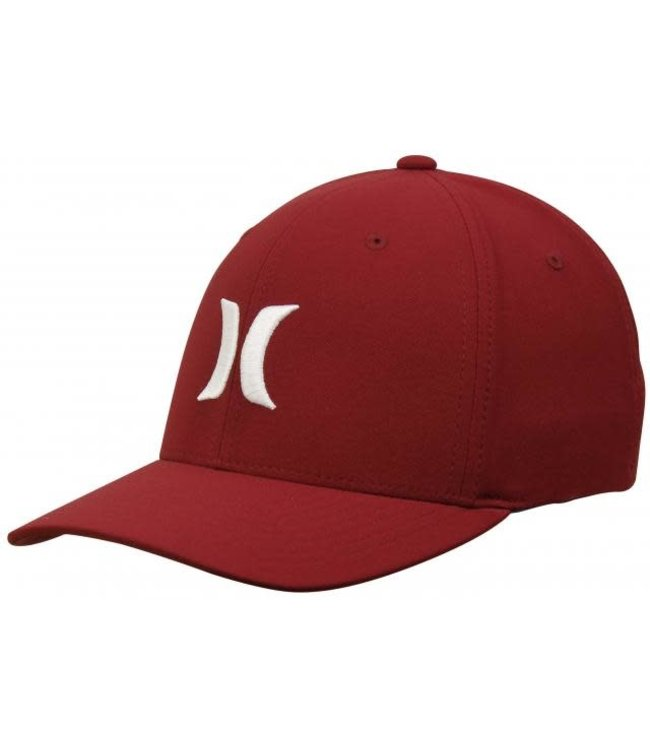 Hurley Mens Dri-Fit OAO Hat - Red/White