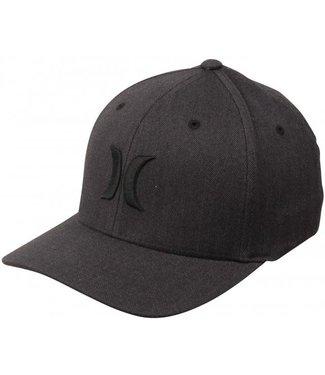 Hurley Hurley Mens Black Textures Hat - Black/Grey