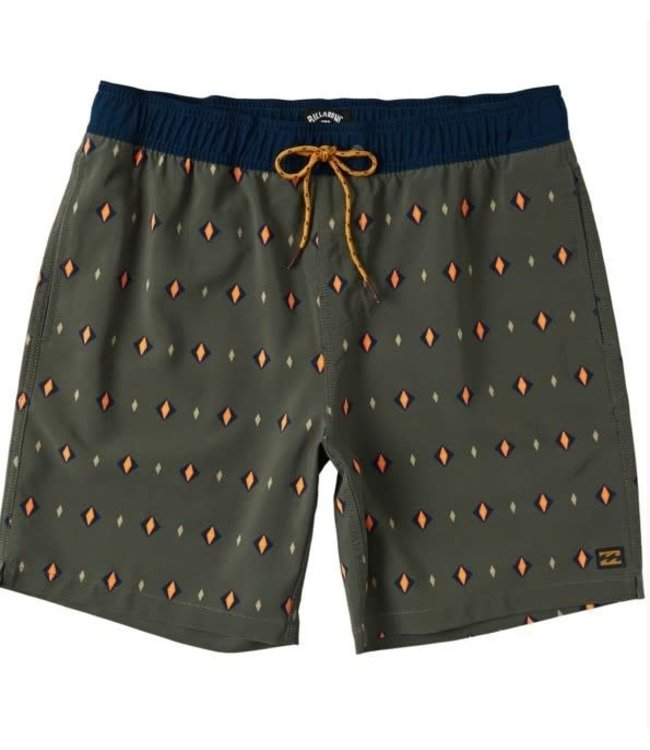Billabong Mens Sundays Layback Short
