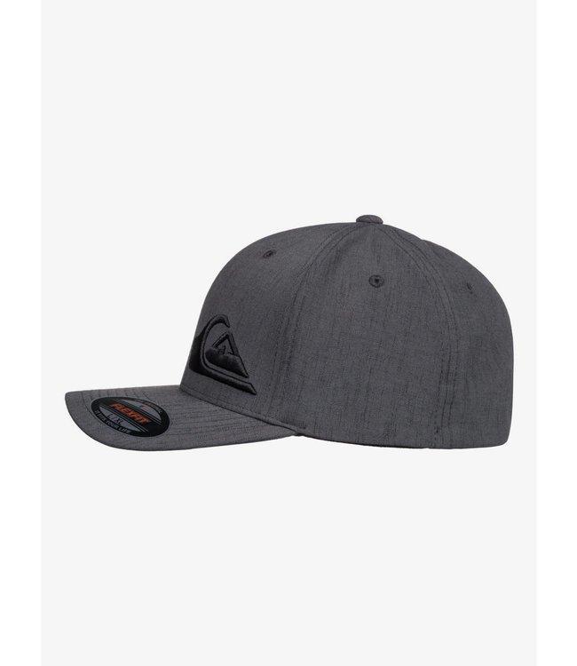 Quiksilver Mens Final Flexfit Hat Charcoal S/M