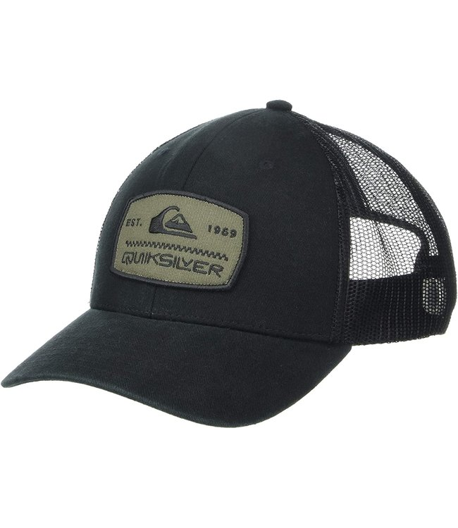 Quiksilver Mens Rinsed Off Trucker Hat