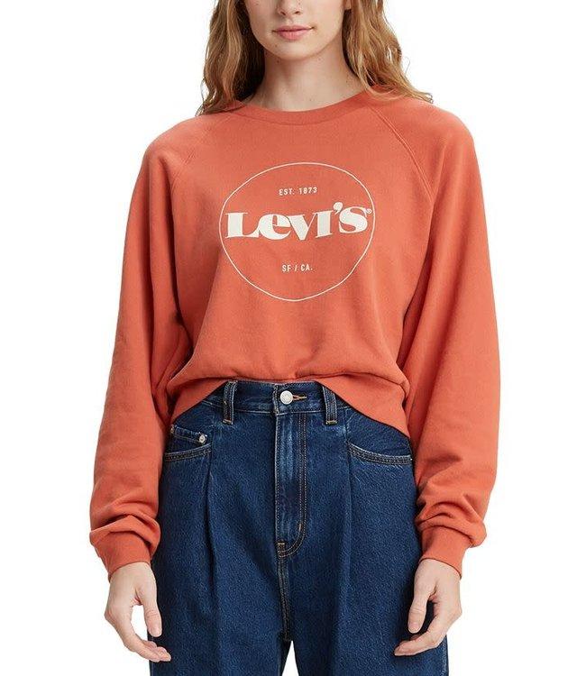 Levis Womens Vintage Raglan Crew