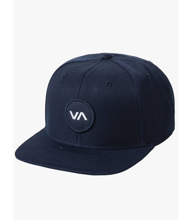 RVCA Mens Patch Snapback Hat
