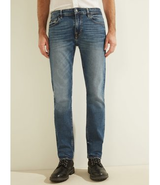 Guess Guess Mens Slim Straight Basic Jean