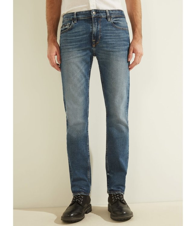 Guess Mens Slim Straight Basic Jean