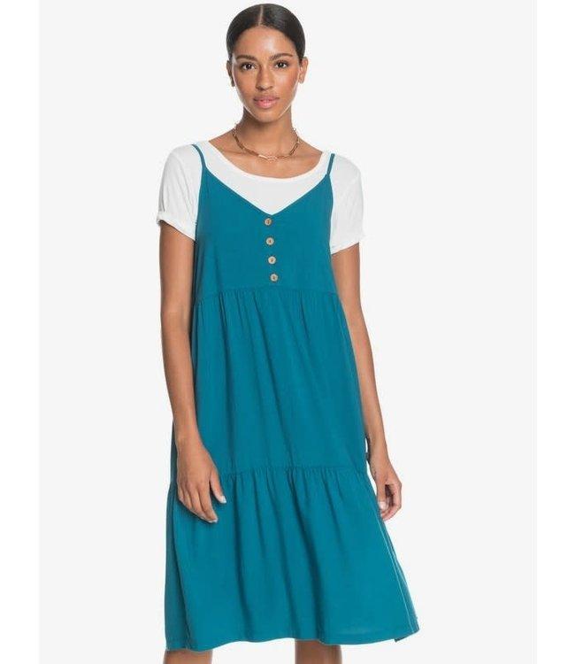Roxy Dream Dream Dream Strappy Midi Dress