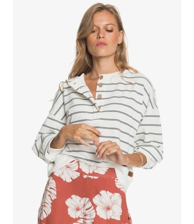 Roxy Womens Sea Stoke Stripe Sweater