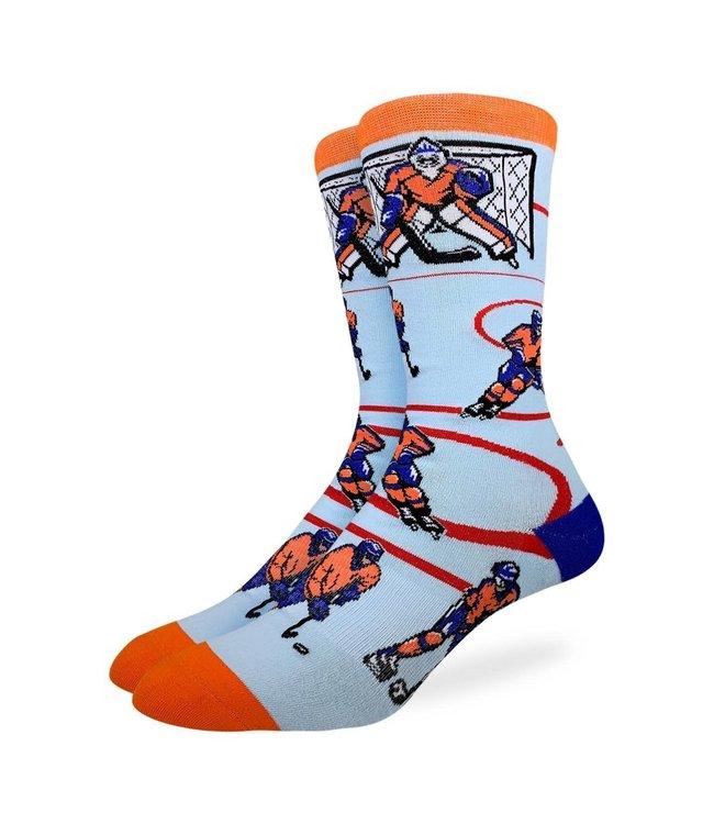 Good Luck Sock Mens Blue/Orange Hockey