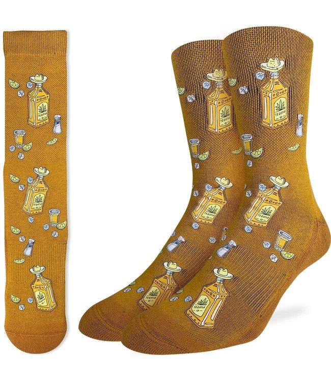 Good Luck Socks Mens Tequila Bottles Size 8-13