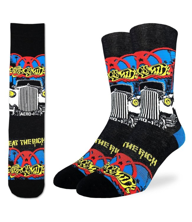 Good Luck Sock Mens Aerosmith  Size 8-13