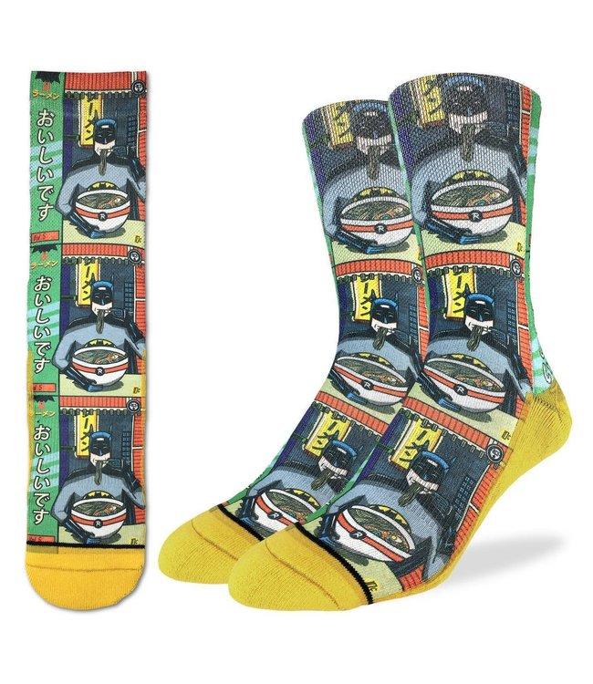 Good Luck Socks Batman & Ramen Size 8-13