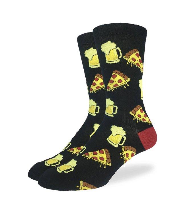 Good Luck Sock Men's Pizza & Beer Size 7-12
