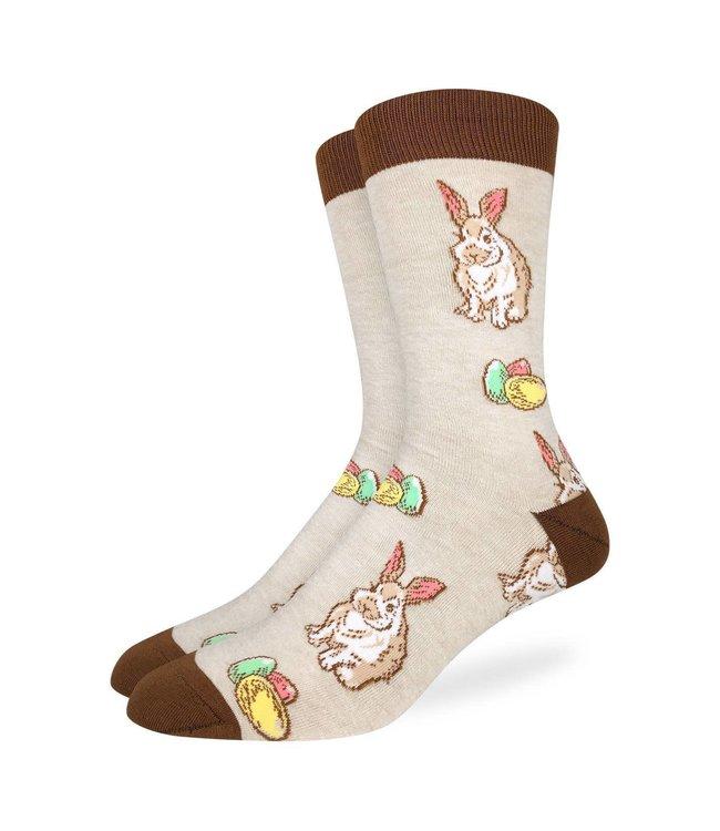 Good Luck Sock Men's Easter Bunny Size 7-12