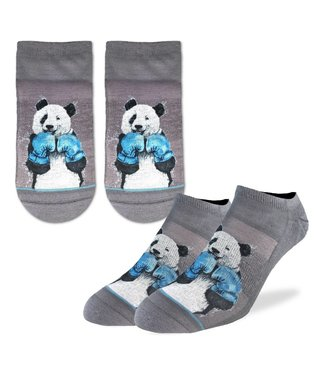 Good Luck Socks Men's Boxing Panda Ankle Size 7-12