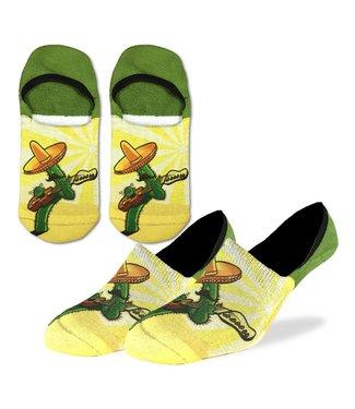 Good Luck Sock Men's Cactus Guitar No Show Size 7-12