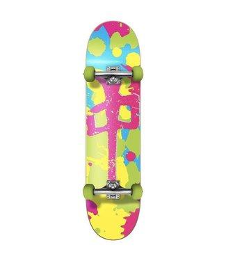 Red Dragon RDS Complete Bright Splatter 7.5 Skateboard
