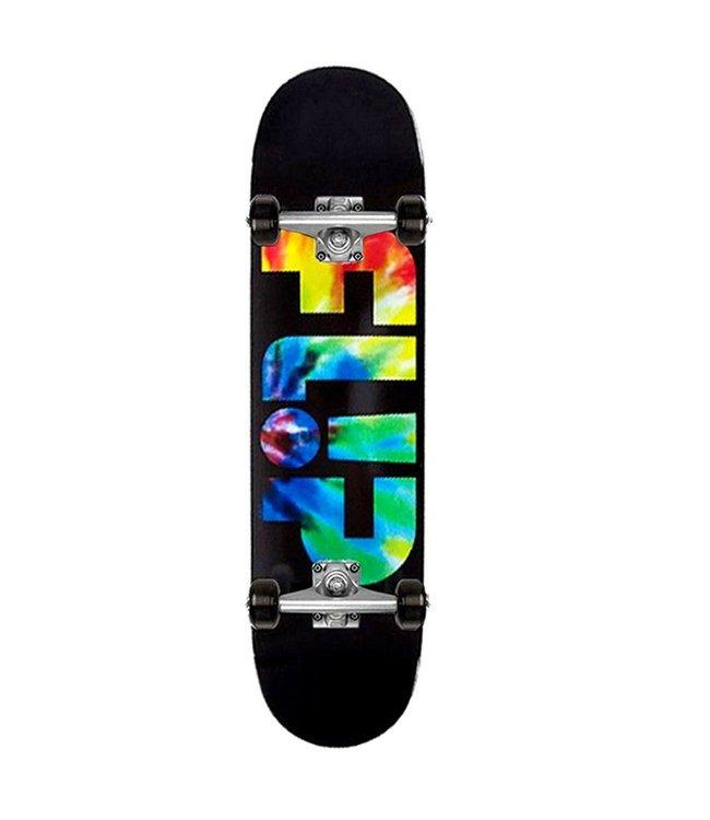 Flip Complete Team Odyssey Tie Dye 7.5-30.6 Skateboard